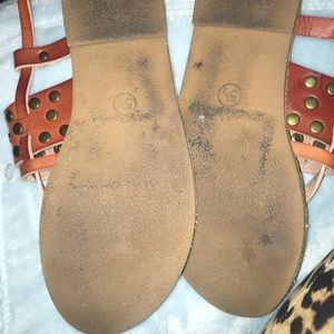Mossimo Supply Co. Shoes - Leather sandals 5 1/2